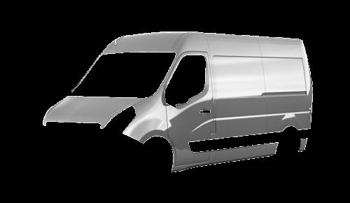 Цвета кузова Movano